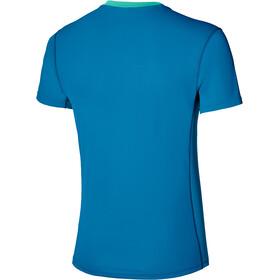 Mizuno Alpha Sun Protect T-Shirt Herren mykonos blue